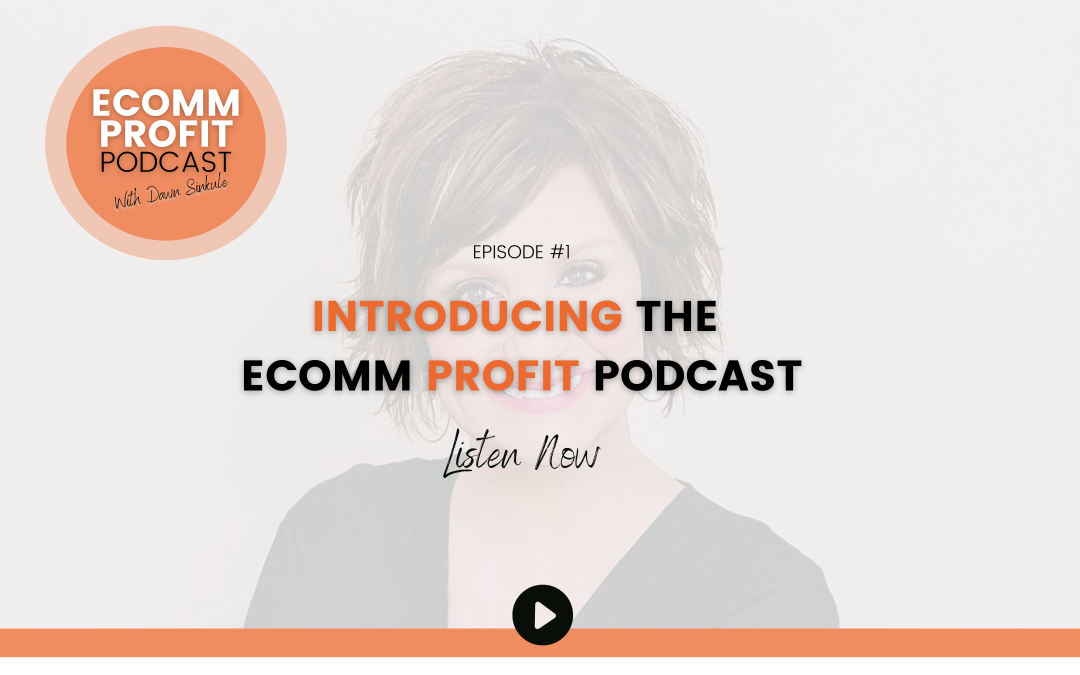 01. What's this all about? Introducing the eComm Profit Podcast